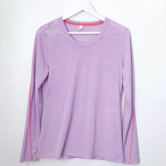 88f2d59c82 Lucy Tops | Activewear Long Sleeve Layering Top Purple | Poshmark